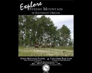 Steens Mountain Packers Brochure