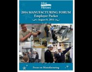 HAH 2014 Manufacturing Forum Employer Packet