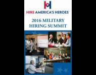 HAH 2016 Military Hiring Summit program